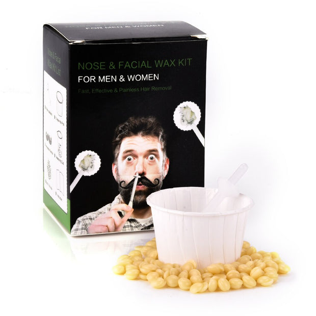 Nose Facial Hair Removal Wax Beans Kit