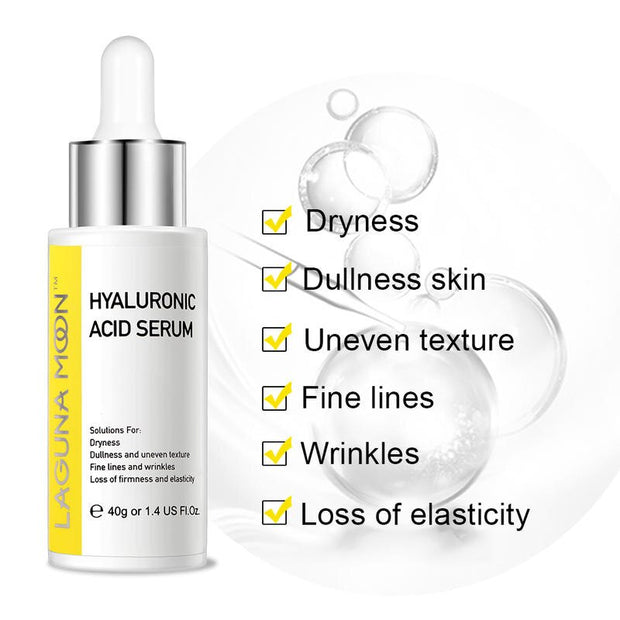 Lagunamoon Serum for Face with Hyaluronic Acid & Amino Acid