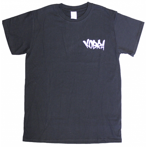 Embroidered Tag T-Shirt Black