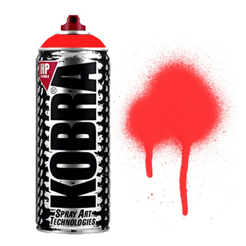HP Spray Paint - HP050 Fluo Red
