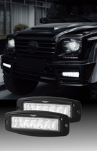Load image into Gallery viewer, Bostin Life Pair 6 Inch Cree Flush Mount Led Work Light Bar Flood Fog Lamp Reverse 4Wd Dropshipzone