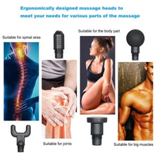 Load image into Gallery viewer, Muscle massage gun with 4 massage heads_4