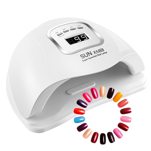 120W LED UV Nail Gel Dryer Curing Lamp_5