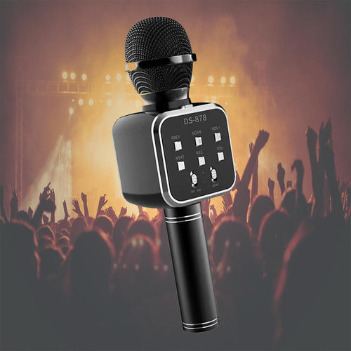 New DS 878 Wireless Bluetooth Microphone with Built-in HIFI Speaker For iPhone and Android_2