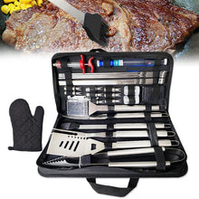 Load image into Gallery viewer, 30Pcs Stainless Steel Barbecue Tool Set and Cooking Tools for Outdoor Camping_10