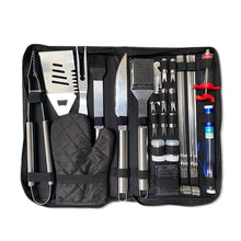 Load image into Gallery viewer, 30Pcs Stainless Steel Barbecue Tool Set and Cooking Tools for Outdoor Camping_9