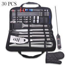 Load image into Gallery viewer, 30Pcs Stainless Steel Barbecue Tool Set and Cooking Tools for Outdoor Camping_2