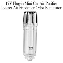 Load image into Gallery viewer, 12V Plug-in Mini Car Air Purifier Ionizer Air Freshener Odor Eliminator_2