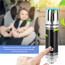 Load image into Gallery viewer, 12V Plug-in Mini Car Air Purifier Ionizer Air Freshener Odor Eliminator_8