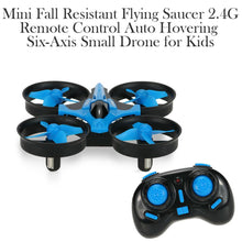 Load image into Gallery viewer, Mini Fall Resistant Flying Saucer 2.4G Remote Control Auto Hovering Six-Axis Small Mode Drone for Kids_11