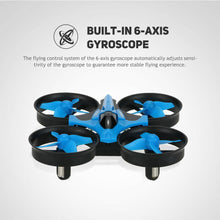 Load image into Gallery viewer, Mini Fall Resistant Flying Saucer 2.4G Remote Control Auto Hovering Six-Axis Small Mode Drone for Kids_15