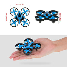 Load image into Gallery viewer, Mini Fall Resistant Flying Saucer 2.4G Remote Control Auto Hovering Six-Axis Small Mode Drone for Kids_1