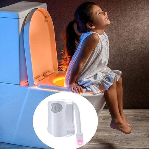 Smart Waterproof Motion Sensor Toilet Seat Night Light in 8 Colors_7