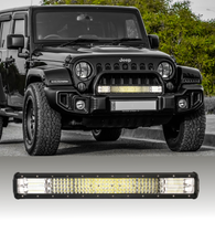 Load image into Gallery viewer, Bostin Life 23 Inch Philips Led Light Bar Quad Row Combo Beam 4X4 Work Driving Lamp 4Wd Dropshipzone