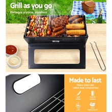 Load image into Gallery viewer, Bostin Life Grillz Notebook Portable Charcoal Bbq Grill Dropshipzone
