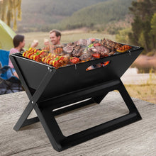 Load image into Gallery viewer, Bostin Life Notebook Style Portable Charcoal BBQ Grill