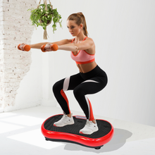 Load image into Gallery viewer, Bostin Life Vibration Plate Platform Body Shaper Home Gym Machine - Red Sports & Outdoors > Fitness