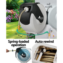 Load image into Gallery viewer, Green Fingers 30m Retractable Water Hose Reel