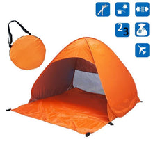 Load image into Gallery viewer, Bostin Life Foldable Free To Build Automatic Quick Speed Open Outdoor Camping Beach Tent With