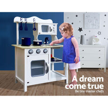 Load image into Gallery viewer, Bostin Life Keezi 18 Piece Kids Kitchen Play Set - White Baby & > Toys