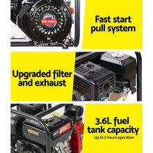 Load image into Gallery viewer, Bostin Life 2 Inch High Flow Water Pump - Black & Red Dropshipzone