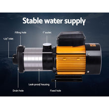 Load image into Gallery viewer, Bostin Life Multi Stage Water Pump Pressure Rain Tank Garden Farm House Irrigation 2500W
