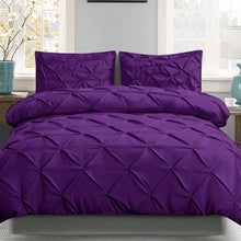 Load image into Gallery viewer, Bostin Life Luxury Classic Bed Duvet Doona Quilt Cover Set Hotel King Size Purple Dropshipzone