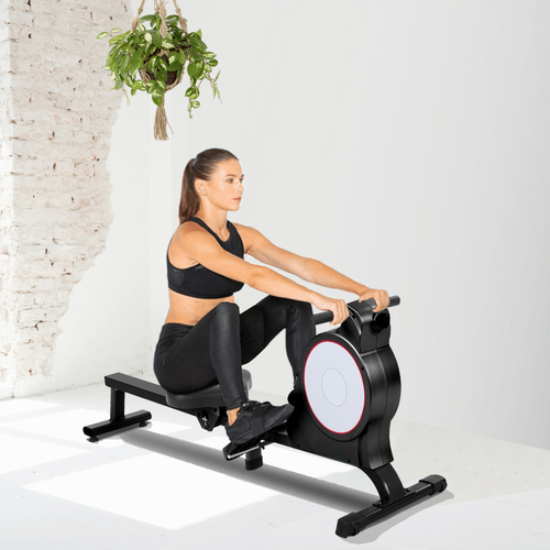 Everfit Magnetic Rowing Exercise Machine Rower Resistance Cardio Fitness Gym Sports & Outdoors >