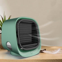 Load image into Gallery viewer, Bostin Life Mini Multifunctional Humidification Aromatherapy Fan Portable Office Home Desktop Air