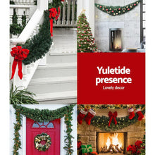 Load image into Gallery viewer, Bostin Life Jingle Jollys Christmas Garland 2.1M Xmas Wreath Decoration Home Decor Occasions >