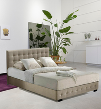 Load image into Gallery viewer, Bostin Life Bed Frame Base With Gas Lift Queen Size Platform Fabric Idropship