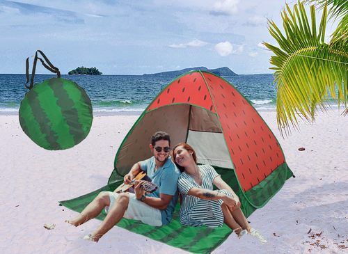 Bostin Life Foldable Free To Build Automatic Quick Speed Open Outdoor Camping Beach Tent With