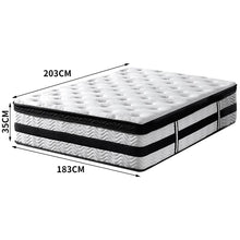 Load image into Gallery viewer, Bostin Life Dreamz 35Cm Thickness Euro Top Egg Crate Foam Mattress In King Size Idropship