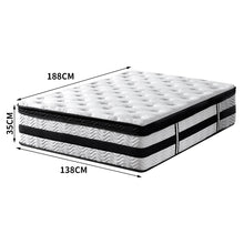 Load image into Gallery viewer, Bostin Life 35Cm Thickness Euro Top Egg Crate Foam Mattress In Double Size Home & Garden