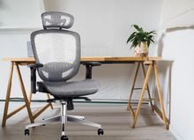 Load image into Gallery viewer, Bostin Life Office Chair Gaming Computer Chairs Mesh Net Seating Grey Dropshipzone