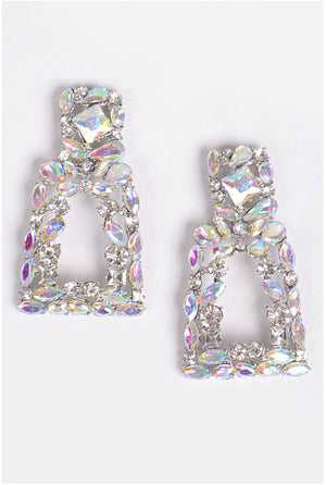 Open image in slideshow, Luxury Cluster Shine Earrings.