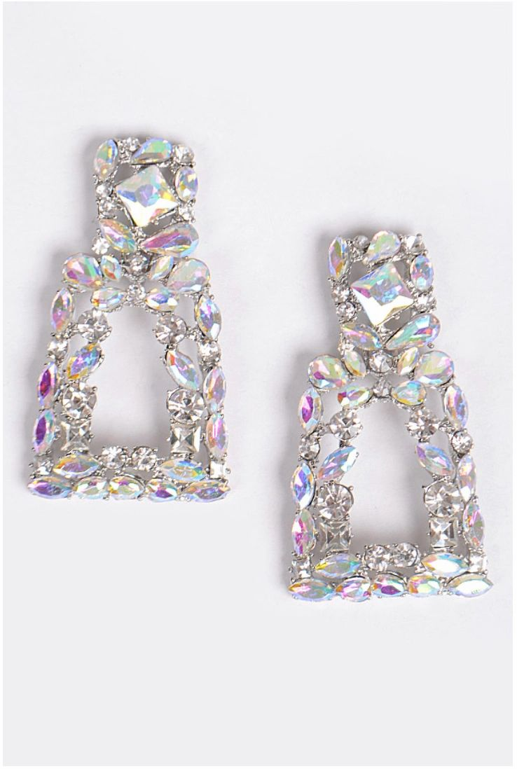 Luxury Cluster Shine Earrings.
