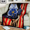 Custom Blanket International Brotherhood of Teamsters Blanket - Fleece Blanket