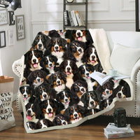 You Will Have A Bunch Of Bernese Mountains - Fleece Blanket
