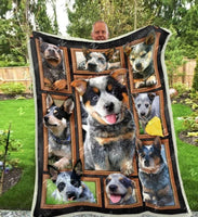 Australian Cattle Dog Cute Heeler 3D Customized Quilt