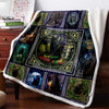 Cat - Mystery Celtic Cat 3D Custom Personalized Fleece Blanket