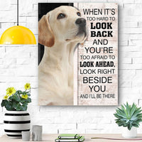 Labrador Dog Canvas Prints Wall Art - Matte Canvas 5