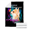 Customs Blanket Chihuahua Angels Among Us Classic Dog Blanket - Fleece Blanket
