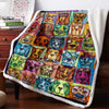 Herd Of Dogs 3D Custom Personalized Fleece Blanket