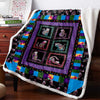 Cats Heavenly 3D Custom Personalized Fleece Blanket