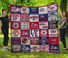 Fresno State Bulldogs Quilt Blanket HA3010 Fan Made