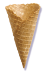 #707L Large Waffle Cones, Case of 198