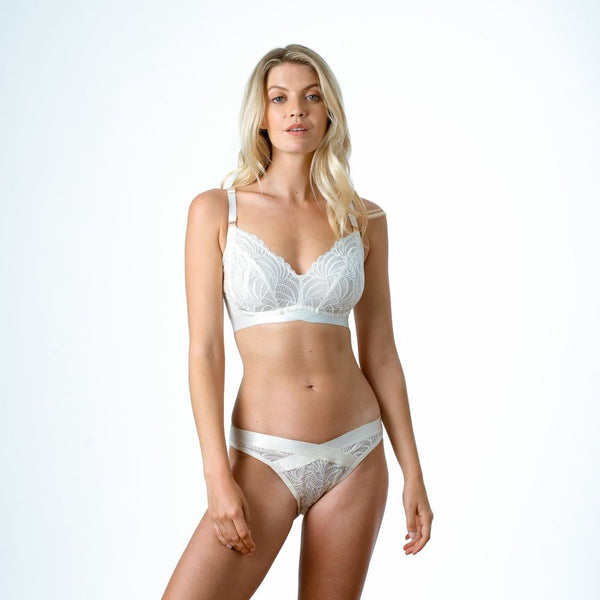 Warrior Soft Cup Bra, Ivory