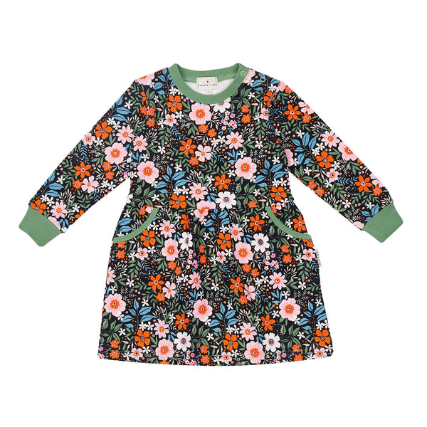 Bloom Gathered Pocket Dress