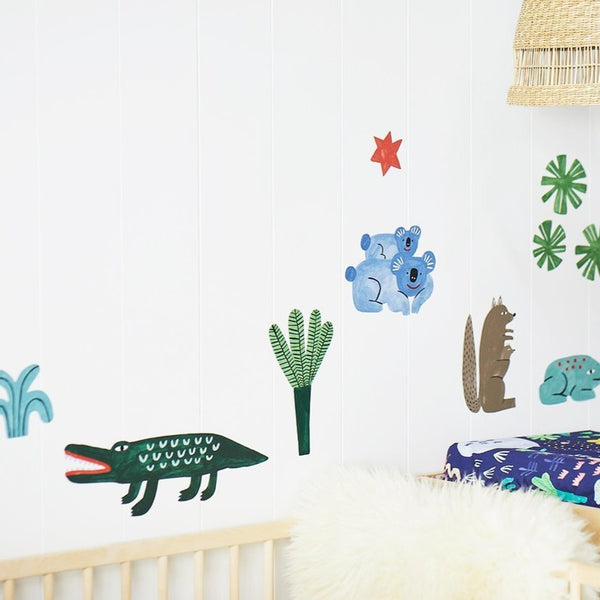Beach Forest Wall Decals